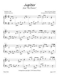 Jupiter (Piano Solo)