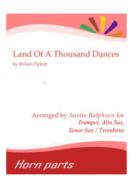Download Land Of A Thousand Dances - Horn Parts Sheet Music