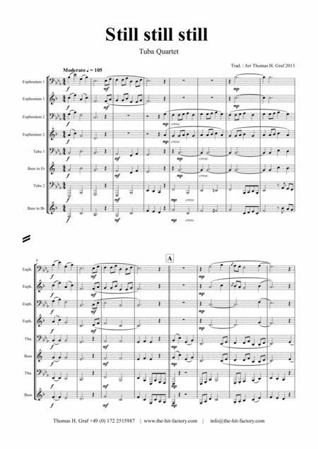 Still Still Still - Christmas song - Tuba Quartet