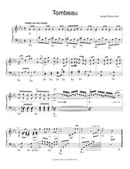 From the Shadowland 6 pieces for piano solo