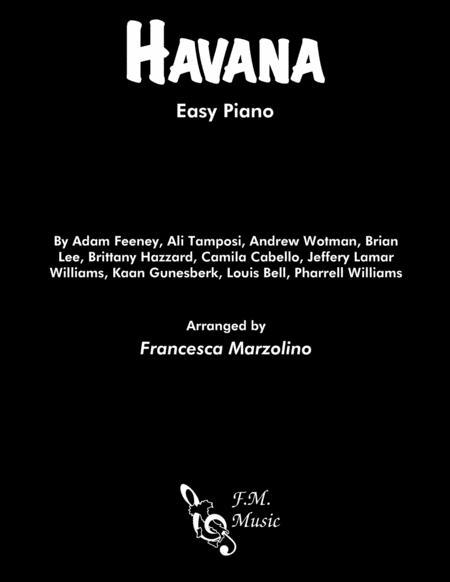 Havana (Easy Piano)
