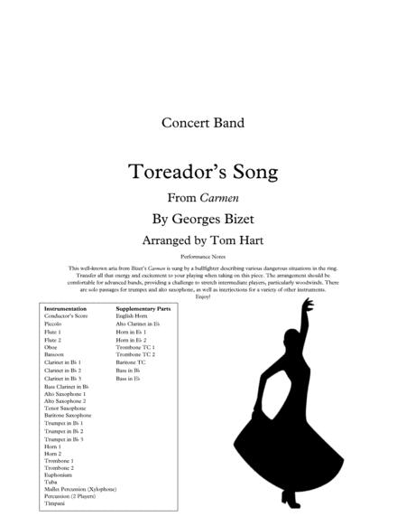 Toreador's Song (from Carmen) - Concert Band