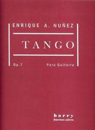 7 Nunez Enrique A guitar 7 Op Tango para Guitarra Op