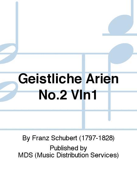 GEISTLICHE ARIEN No.2 Vln1
