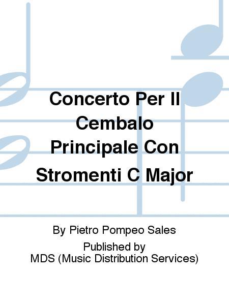 Concerto Per Il Cembalo Principale Con Stromenti C Major
