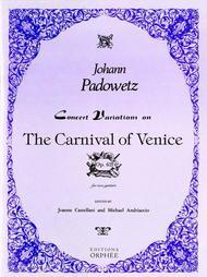 Concert Variations on Carneval of Venice op. 62