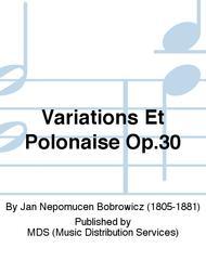 Variations Et Polonaise Op.30