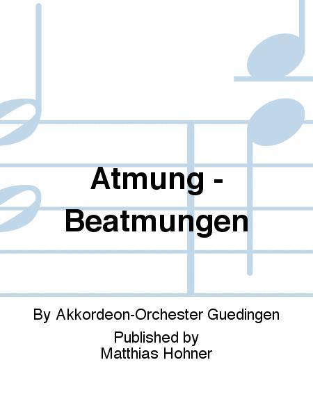 Atmung Beatmungen By Akkordeon Orchester Guedingen Cd