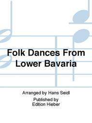 Folk Dances from Lower Bavaria