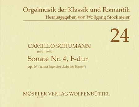 Sonata No. 4 F major op. 67