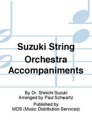 Suzuki String Orchestra Accompaniments
