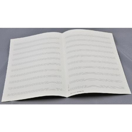 Music manuscript paper - Star 2000 10 staves