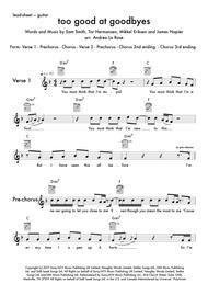 Too Good At Goodbyes — flex band C instruments