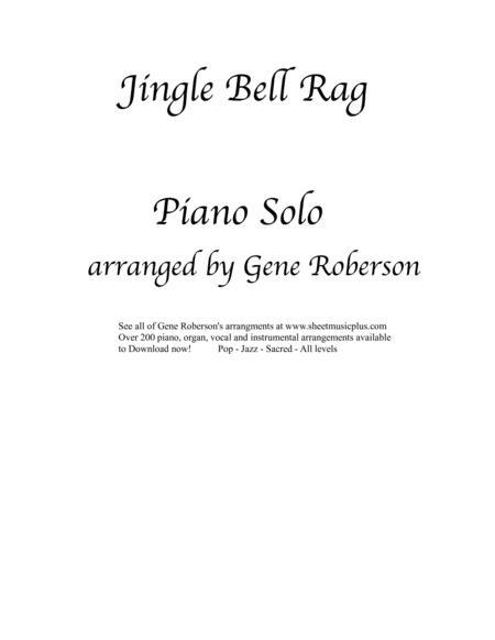 Jingle Bell Rag Piano Solo