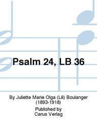 Psalm 24, LB 36