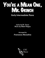 You're A Mean One, Mr. Grinch (Early Intermediate Piano)