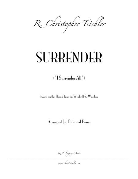 Surrender (I Surrender All)