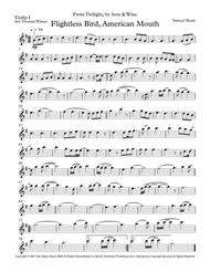 Flightless Bird, American Mouth String Quartet, Trio, Duo or Solo Violin