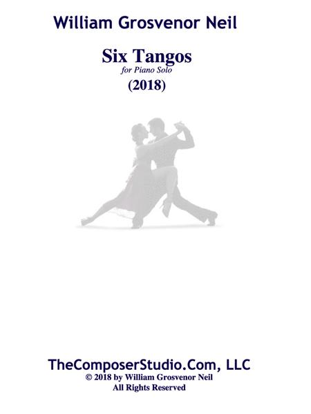 Six Tangos for Piano Solo