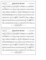 Holiday Road (from National Lampoon's Vacation) (arr. Tom Wallace) - Baritone B.C.