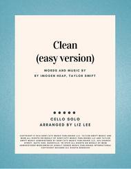 Clean (Easy version)