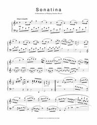 Sonatina in C from Sonatinas and Other Pieces from the Viennese Sketchbook for piano solo