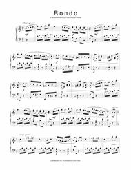 Rondo in C from Sonatinas and Other Pieces from the Viennese Sketchbook for piano solo