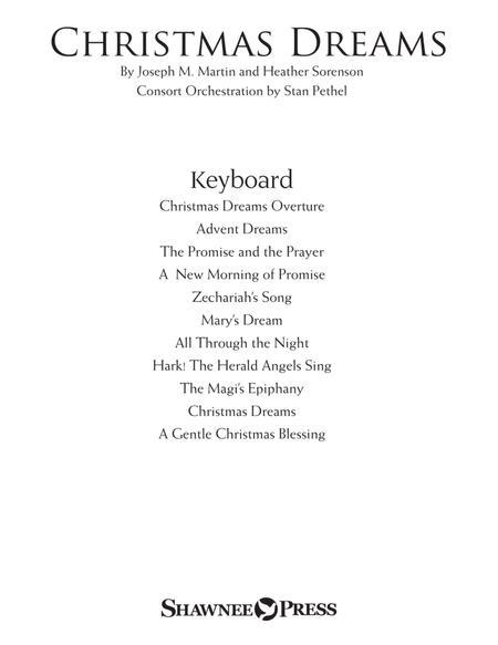 Christmas Dreams (A Cantata) - Keyboard