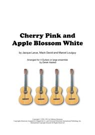 Cherry Pink And Apple Blossom White - 4 guitars or ensemble