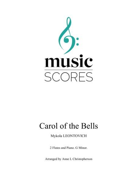 Carol of the Bells - 2 Flutes and Piano - G Minor