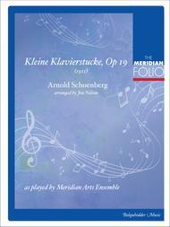 Kleine Klavierstucke Op. 19