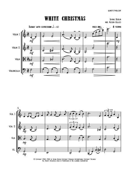 White Christmas - String Quartet