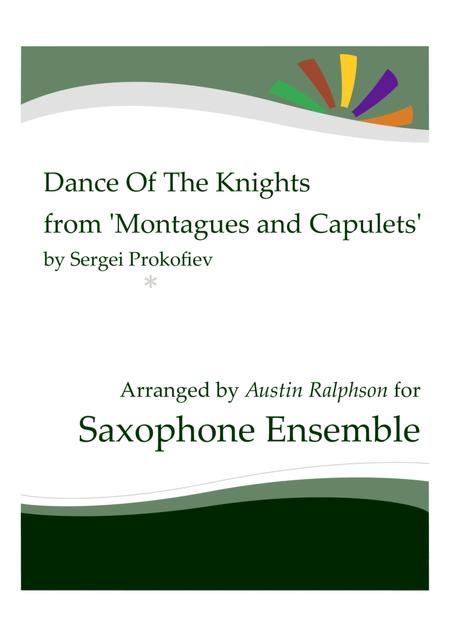 Dance Of The Knights from 'Montagues and Capulets' - sax ensemble