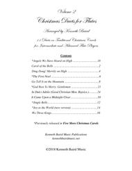 Christmas Duets, Volume 2, for Flutes