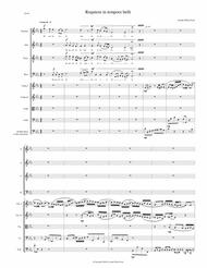 Requiem in tempore belli (Requiem in Time of War) for SATB choir and strings