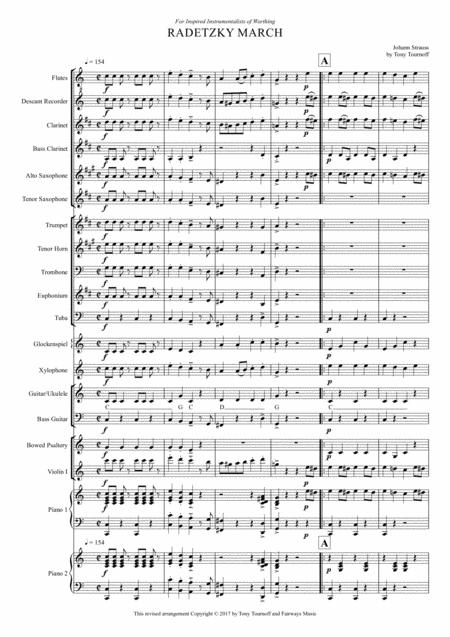 Radetzky March (Mixed ensemble)