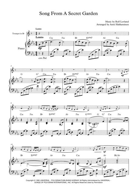 Trumpet – THE SECRET OF MONKEY ISLAND – Main Theme (Sheet music – Guitar chords)