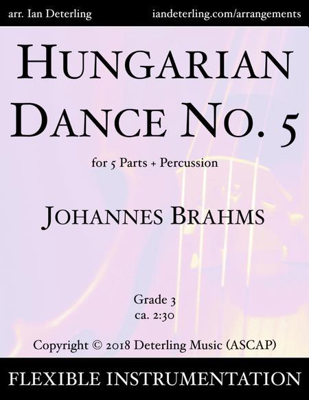Hungarian Dance No. 5 (Flex-Band)