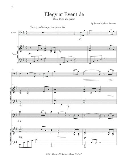 elegy sheet music to download and print  free-scores.com