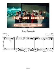Download Ikon Love Scenario Advanced Piano Solo Arrangement