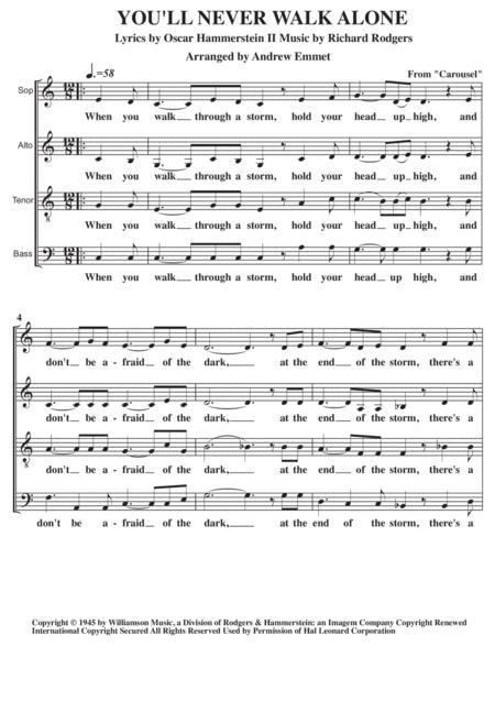 You'll Never Walk Alone A Cappella