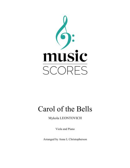 Carol of the Bells - Viola and Piano