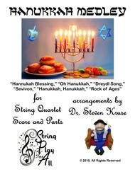 Hanukkah Medley for String Quartet