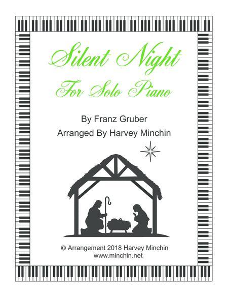 Silent Night for Solo Piano