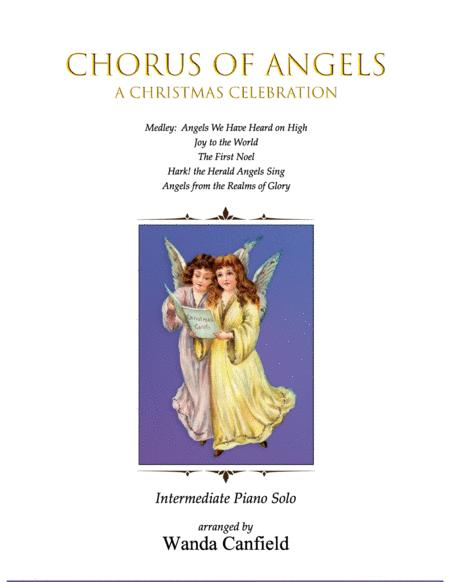 Chorus of Angels (A Christmas Celebration) for piano solo