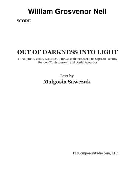 Out of Darkness into Light (2017)