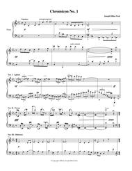 Three Chromicons for piano solo