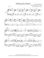 Nothing Else Matters - Metallica (Solo Harp Arrangement)