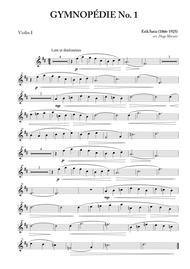 Gymnopédie Nos. 1,2,3 for String Quartet
