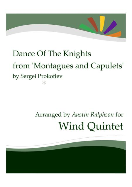 Dance Of The Knights from 'Montagues and Capulets' - wind quintet
